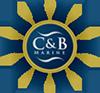C and B Marine logo