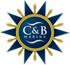 C and B Marine logo